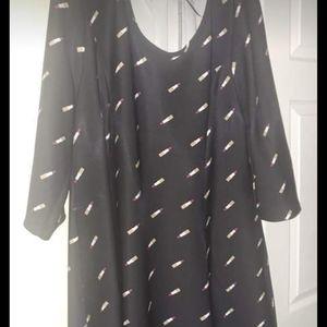 Size 3x lipstick dress
